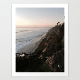 California Surfers Art Print