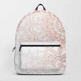 Pleasure Rose Gold Rucksack