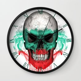 To The Core Collection: Bulgaria Wall Clock