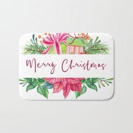 Merry Christmas Design Elements 1 Bath Mat