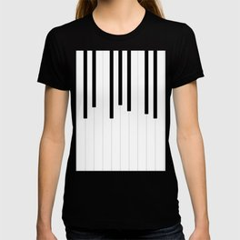 Piano keys, music background #society6 #decor #buyart #artprint T-shirt