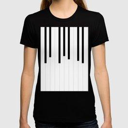 Piano keys, music background #society6 #decor #buyart #artprint T-shirt