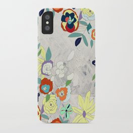 Saturday Florals iPhone Case