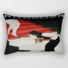 Vintage poster - Nirolilan Rectangular Pillow