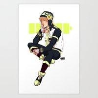 dmmd Art Prints featuring DMMD: Noiz by Yuki119