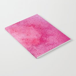 Pink marble watercolor texture Notebook