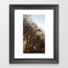 Lamppost Melodies  Framed Art Print