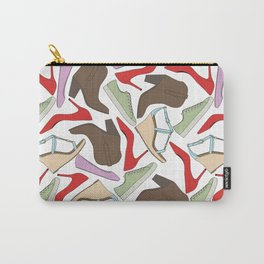 Shoe Pattern Carry-All Pouch