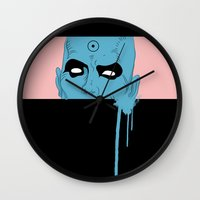 manhattan Wall Clocks featuring manhattan by Molnár Roland