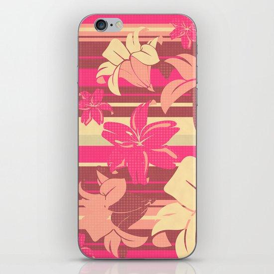 Lilium 03 iPhone & iPod Skin