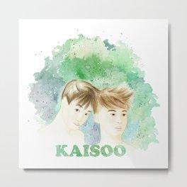 KAISOO Metal Print