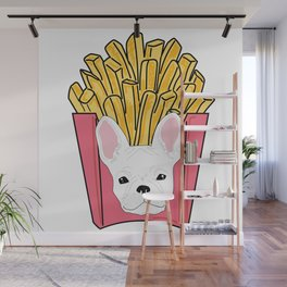 Frenchie Fries Wall Mural