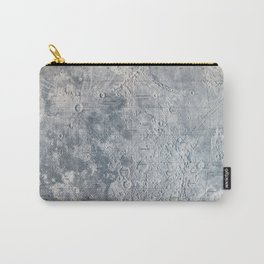Vintage Lunar Moon Map, 1960s Carry-All Pouch
