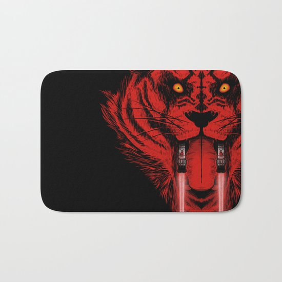 Dark Side Saber-Toothed Tiger Bath Mat