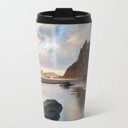 Setting Sun At Moonstone Travel Mug