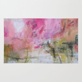Amazing Day Abstract Painting Rug