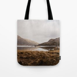 Golden Irish Landscape Tote Bag