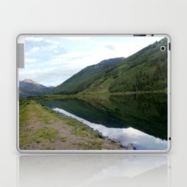 Symmetry and Serenity on Crystal Lake Laptop & iPad Skin