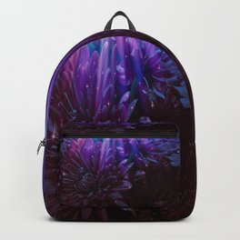Twilight Floral Abstract Backpack