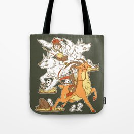 Forest Warriors Tote Bag