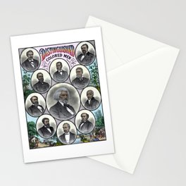 Distinguished Colored Men Stationery Cards