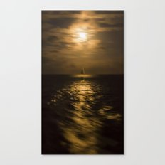 I'll Sail Away Canvas Print