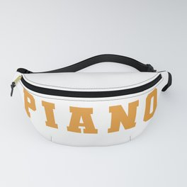 Piano Is My Sport - Piano Chords Fanny Pack