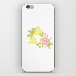 Garden of Power, Wisdom and Courage iPhone Skin
