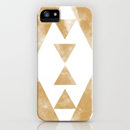 MOON MUSTARD iPhone Case