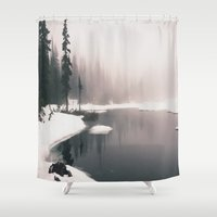 frozen Shower Curtains featuring Frozen  by Andrew Rincon