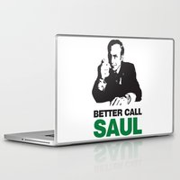 better call saul Laptop & iPad Skins featuring Better Call Saul by Harry Martin