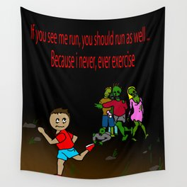 exercise Wall Tapestry