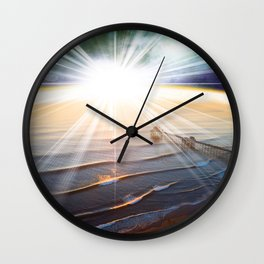 Above Us...One Sun... Wall Clock