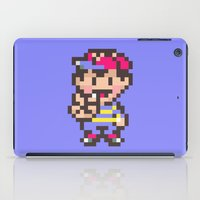 earthbound iPad Cases featuring Ness (Peace) - Earthbound / Mother 2 by Studio Momo╰༼ ಠ益ಠ ༽