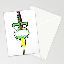Thunder Sword Stationery Cards