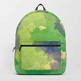 Abstract painting X 0.4 Backpack