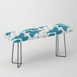 Birds and Stars Bench