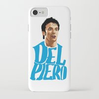 juventus iPhone & iPod Cases featuring Del Piero Name Blue by Sport_Designs