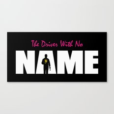 The Driver With No Name Canvas Print