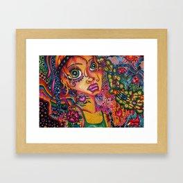 Musical Candy Framed Art Print