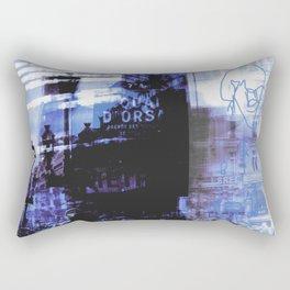 Memories of Paris Rectangular Pillow