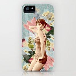Feminine Collage III iPhone Case
