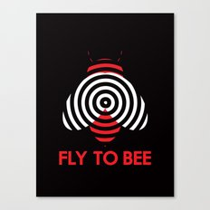 Fly 2 Bee Canvas Print