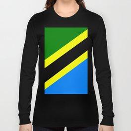 Flag of Tanzania Long Sleeve T-shirt