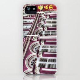 China Town Singapore iPhone Case