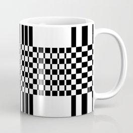 Geometric black and white pattern Coffee Mug