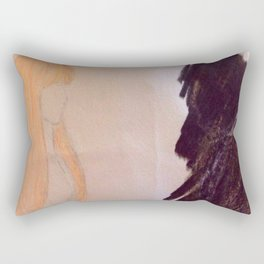 Shadow couple Rectangular Pillow