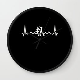 Romantic Dancing Heartbeat | Dancer Gift Wall Clock