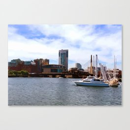 Boston Harbor, Boston, MA Canvas Print