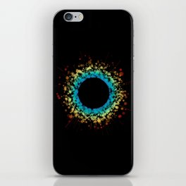 Rainbow Bubble Sun iPhone Skin